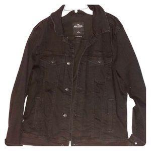 Mens Large Denim Stretch Jacket